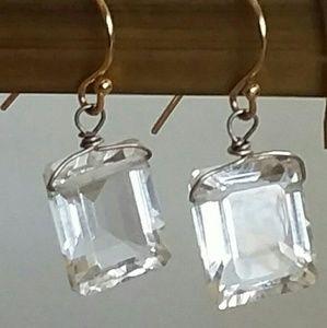 Quartz Earrings by Designs by Ch Lovin.